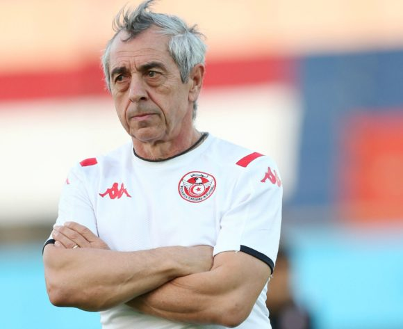 Alain Giresse during the 2019 Africa Cup of Nations Finals Tunisia training session at the El Shams Sports Complex, Cairo, Egypt on 13 July 2019 ©Alain Suffo/BackpagePix