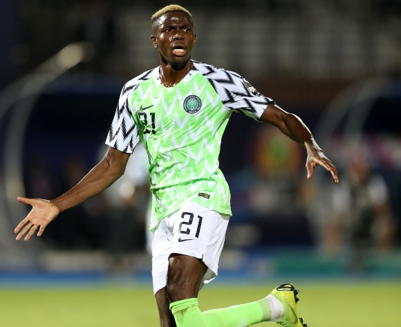 Victor Osimhen happy to have gained experience at Egypt 2019