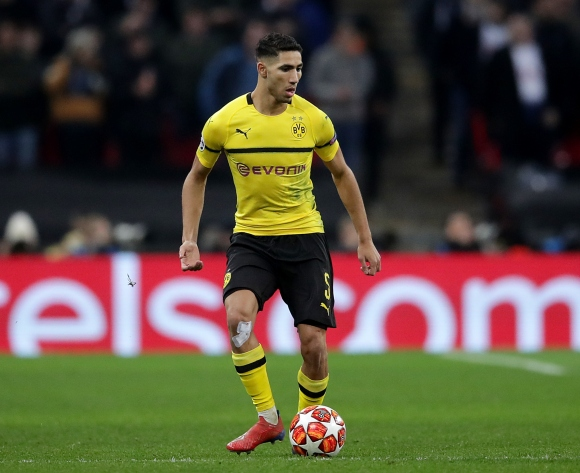 Hakimi inspires Dortmund to victory as Iwobi's Everton suffer defeat