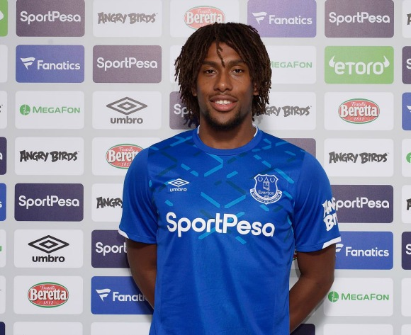 Alex Iwobi has until Friday to win a spot in Everton's team