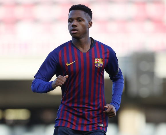 Barcelona's Fati headlines African stars in Spain