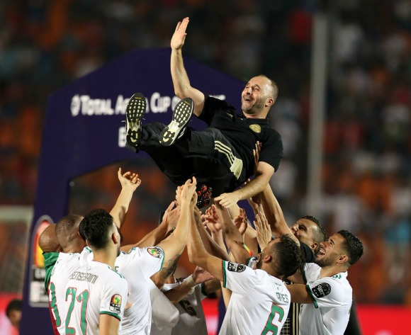 Algeria's Djamel Belmadi shortlisted for coach of the year