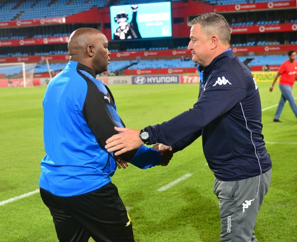 Pitso Mosimane insists on local coach for Bafana job: 'Give Gav a chance!'
