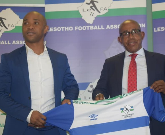 Lesotho name Senong as new head coach