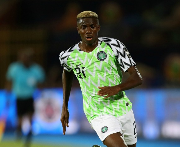 Osimhen replaces Pepe at Lille