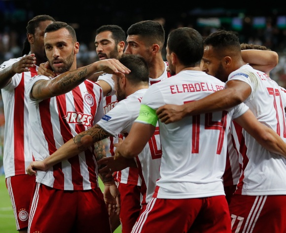 Youseff El Arabi leads Olympiakos to UCL group stage