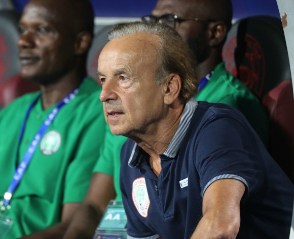 Nigeria's Rohr delights in 'best 45 minutes of football'