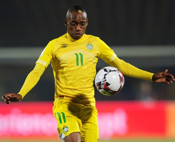 Billiat at odds with coach Middendorp over call-up