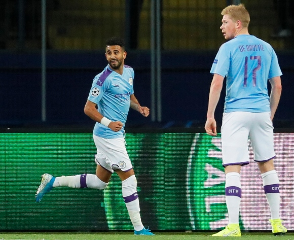Mahrez leads City to victory in Ukraine