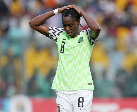 Oshoala heartbroken after Nigeria's shock Olympic exit