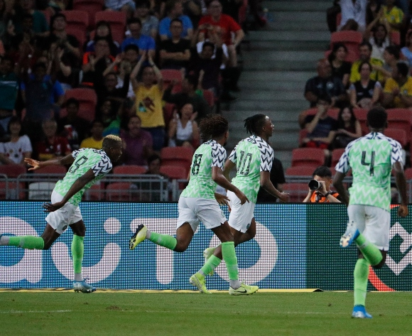 Super Eagles manage a draw against Brazil