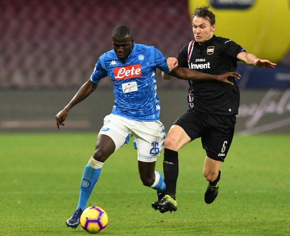 Napoli boss open to letting Koulibaly go