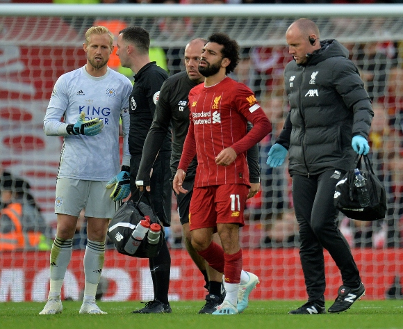 Boost for Liverpool as Salah injury not serious