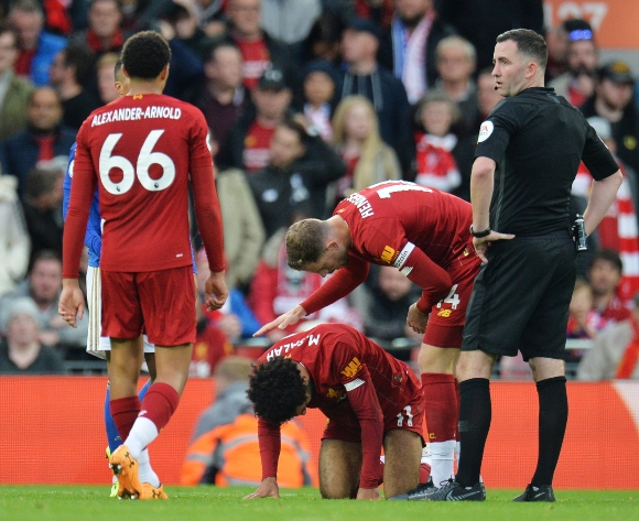 Liverpool sweat on injured Salah