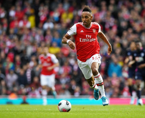 Aubameyang bags Player of the Month award