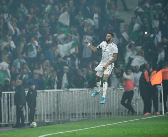 Mahrez grabs brace as Algeria stun Colombia
