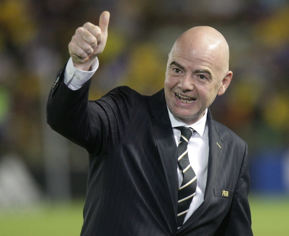 Infantino praises Lesotho's 'big heart' on Africa tour
