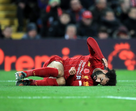 Liverpool suffer Salah blow