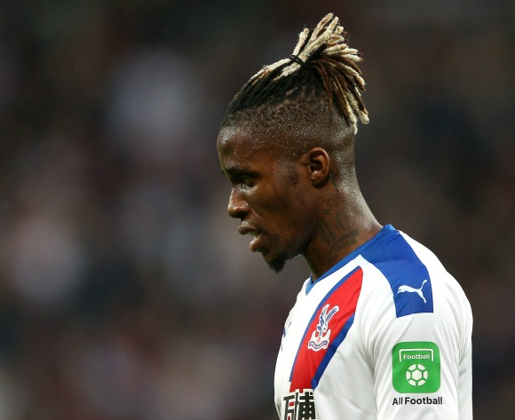 Palace's Hodgson hopes Zaha's injury not serious
