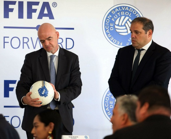 Infantino gets Gabon backing for extensive Africa plans