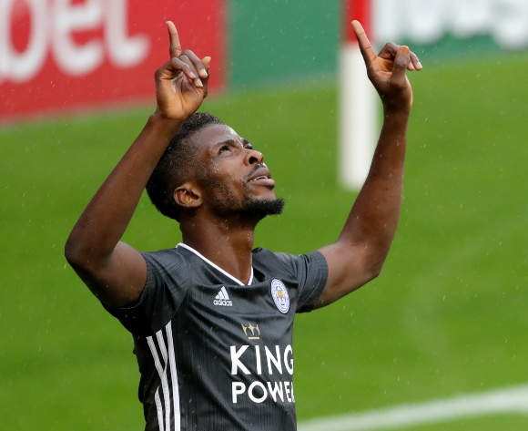 Iheanacho proud to be part of EPL title-chasing Leicester