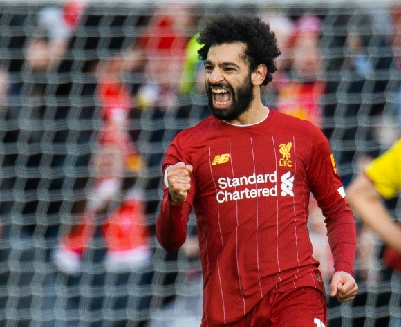 Mohamed Salah double sends Liverpool 10 points clear