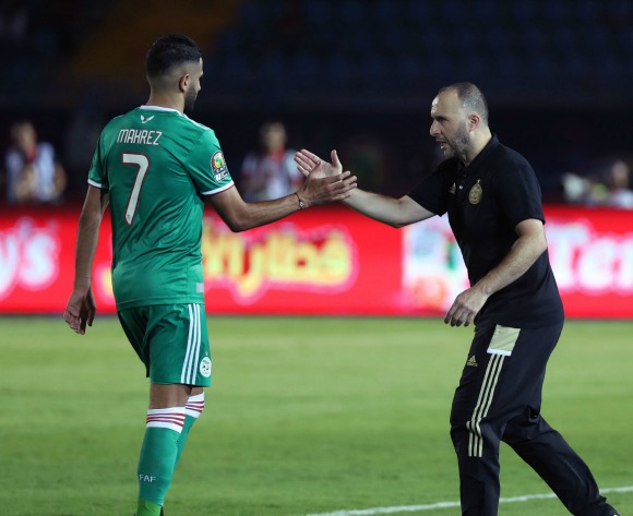 Belmadi: Why Mahrez will beat Mane to CAF APOTY