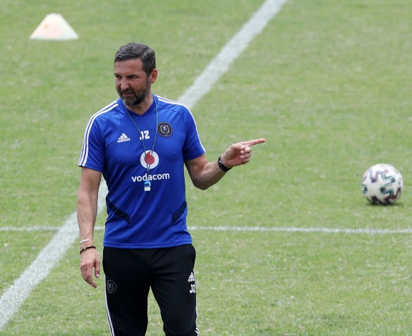 Zinnbauer on why he joined Orlando Pirates