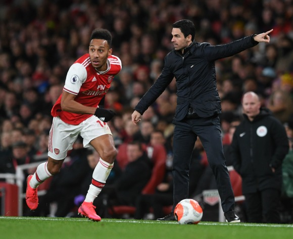 Arteta: Aubameyang is staying put at Arsenal