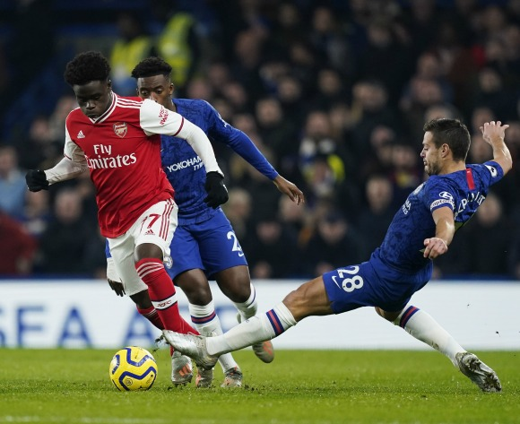 Bukayo Saka has 'improved enormously' at left-back