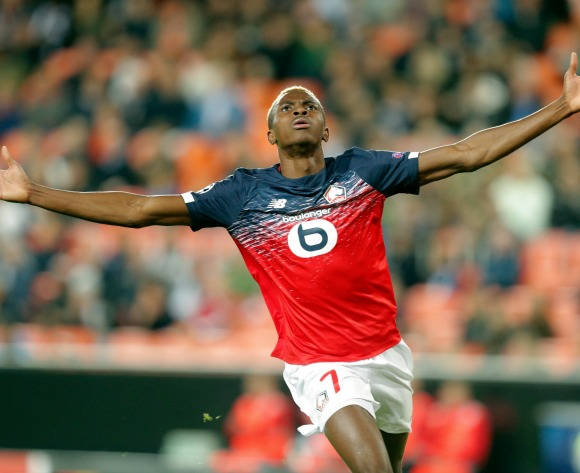 Red-hot Osimhen hands Lille injury boost