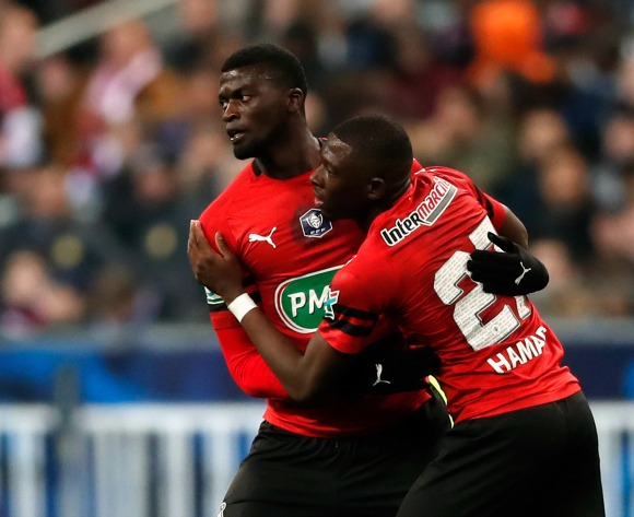 Rennes slap €30million price tag on star forward Niang