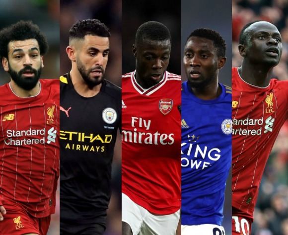 The top five African players in the Premier League