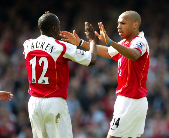 Lauren remembers row with Thierry Henry