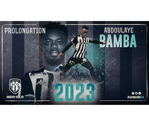 Ivorian star Bamba inks new Angers deal