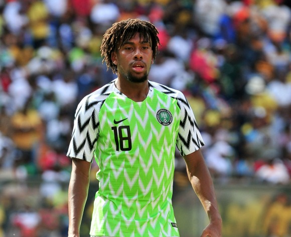 Iwobi: It's blessing to play with Ighalo