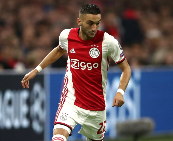 WATCH: Ziyech's top 10 goals for Ajax Amsterdam