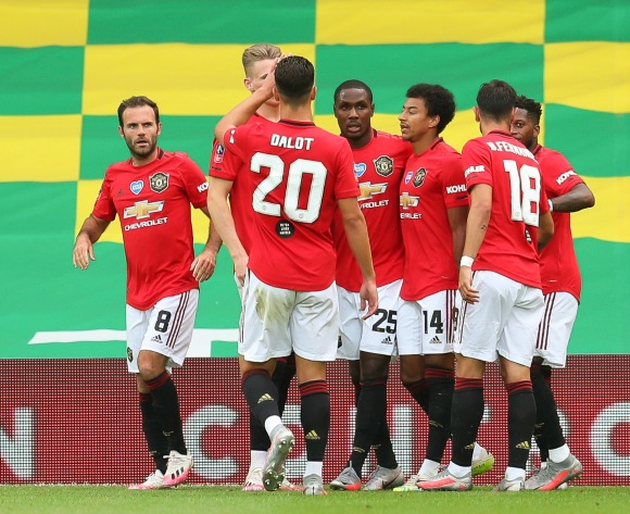 Ighalo scores again as Man United advance in the FA Cup