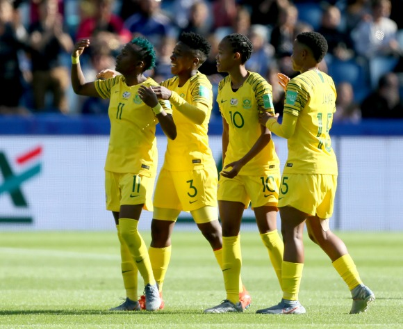 On This Day in 2019 - Banyana Banyana make World Cup debut