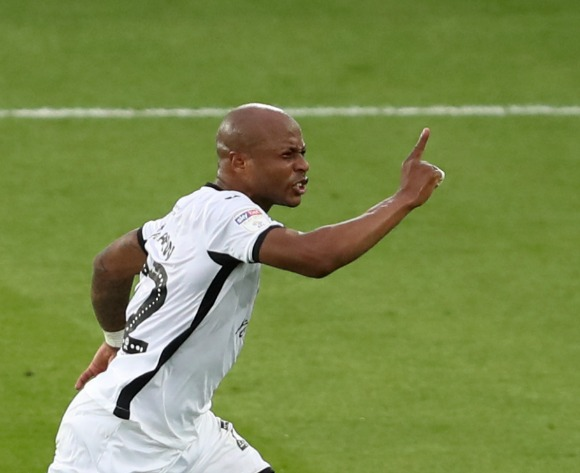 WATCH: Andre Ayew rocket leads Swansea to big playoff win