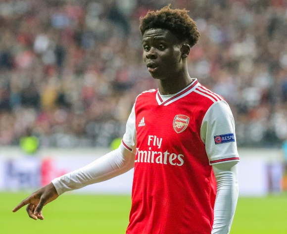 Arsenal's Saka undecided about international future