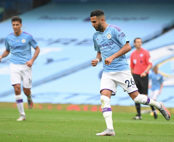 WATCH: Mahrez scores again as City thump Newcastle