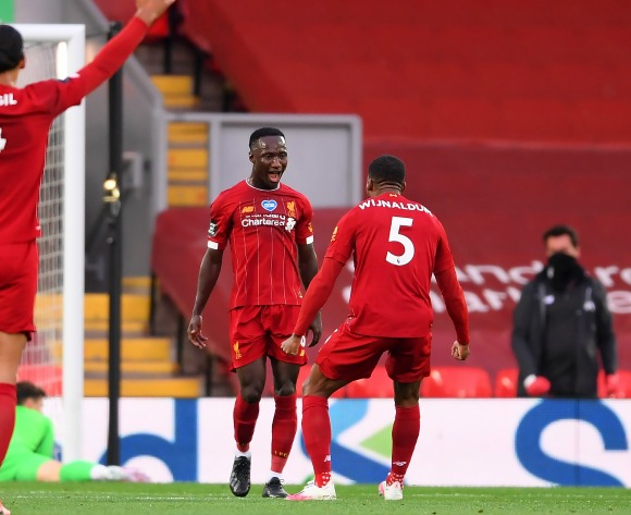 WATCH: Naby Keita nets stunning goal as Liverpool lift EPL crown