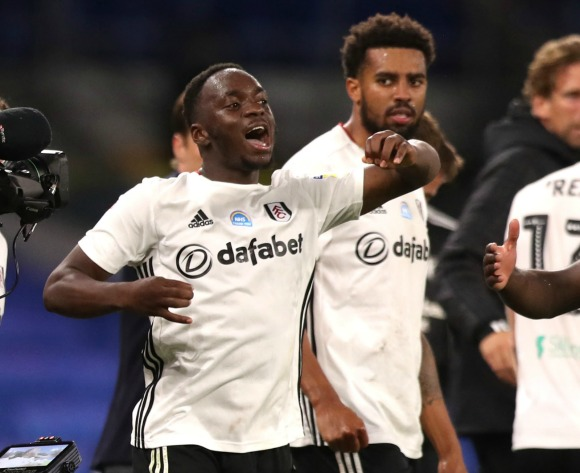 WATCH: Neeskens Kebano worldie takes Fulham step closer to EPL football