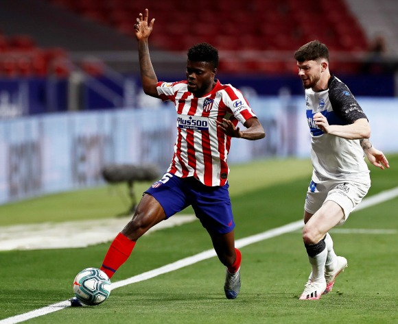 Arsenal step up Partey pursuit