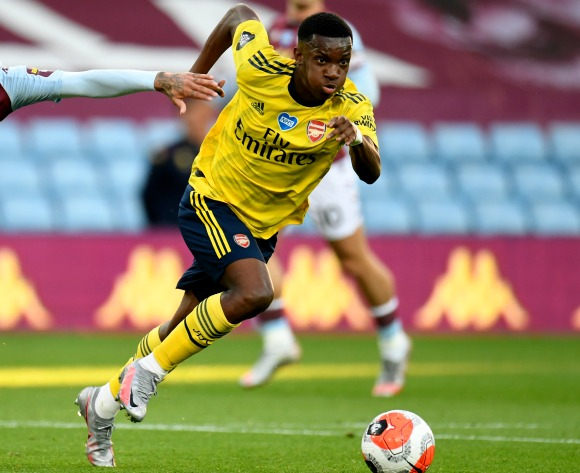 Ghana FA provide update on Arsenal star Nketiah