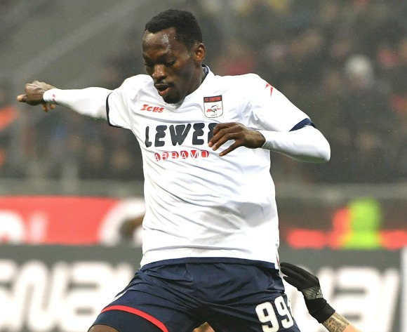 Crotone chairman: Nwankwo staying put