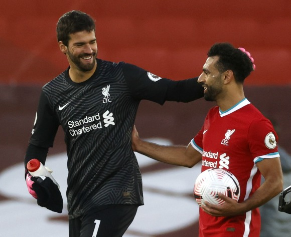 Alisson: 'Hungry' Salah inspires Liverpool teammates
