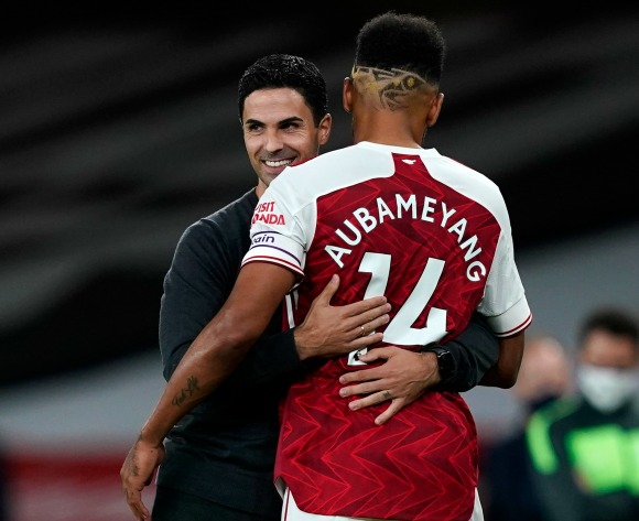 Aubameyang on why he stayed at Arsenal