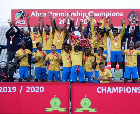 Sundowns claim third straight PSL title